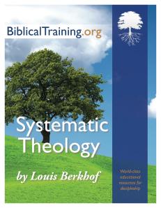 SystematicTheology